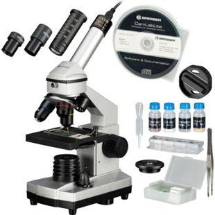 BRESSER JUNIOR 40x-1024x Mikroskop Set mit Hartschalenkoffer - Bild 1