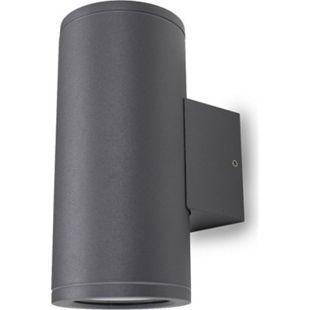 Wandleuchte UpDown Patoro R 2x 35W GU10 IP54 dunkelgrau H: 17,3 cm 10807 - Bild 1