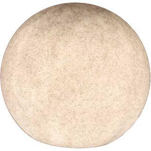 Kugelleuchte Gartenkugel GlowOrb stone 45cm Ø E27 10478 - Bild 1