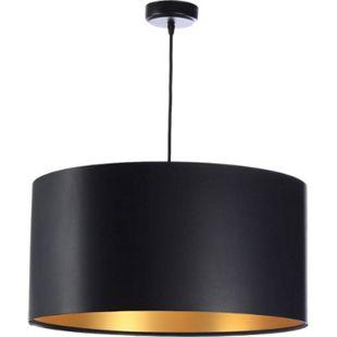 Pendelleuchte Hängeleuchte Feliza Latex black & gold Ø 50 cm 10966 - Bild 1
