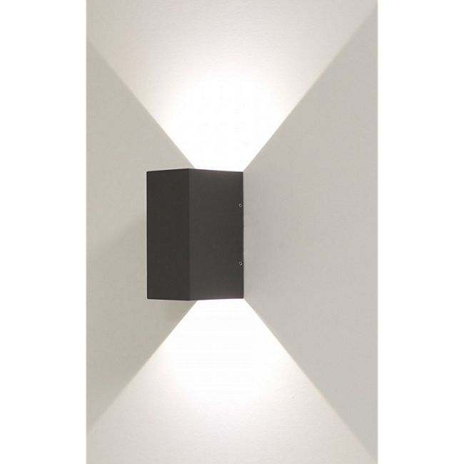 Wandleuchte Effektleuchte Beam 5 Led 2x3 W Abstrahlwinkel 0 - 90 Grad dunkelgrau - Bild 1