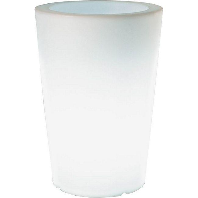 Pflanzkübel Pflanzsäule GlowTub round H: 60cm beleuchtet 10613 - Bild 1