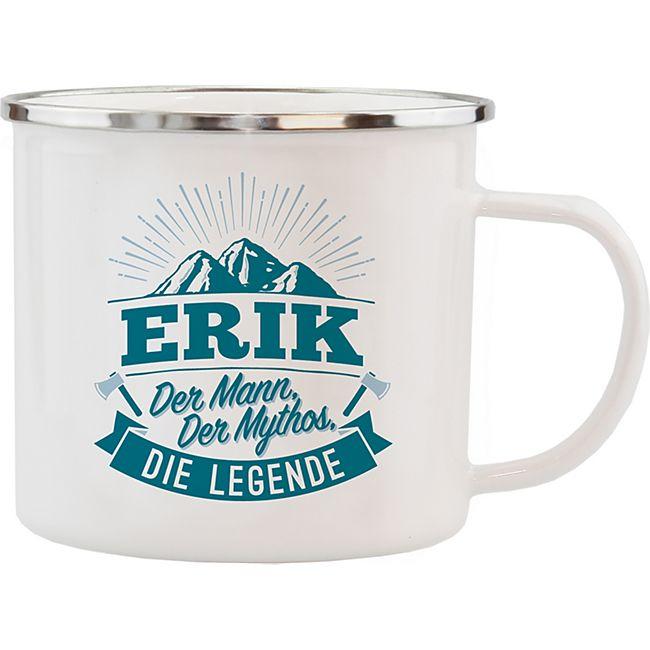 HTI-Living Echter Kerl Emaille Becher Erik - Bild 1