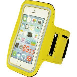 HTI-Line Armtasche für Handy Gelb - Bild 1