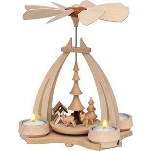 SIGRO Tischpyramide Rehe + Futtergrippe - Bild 1
