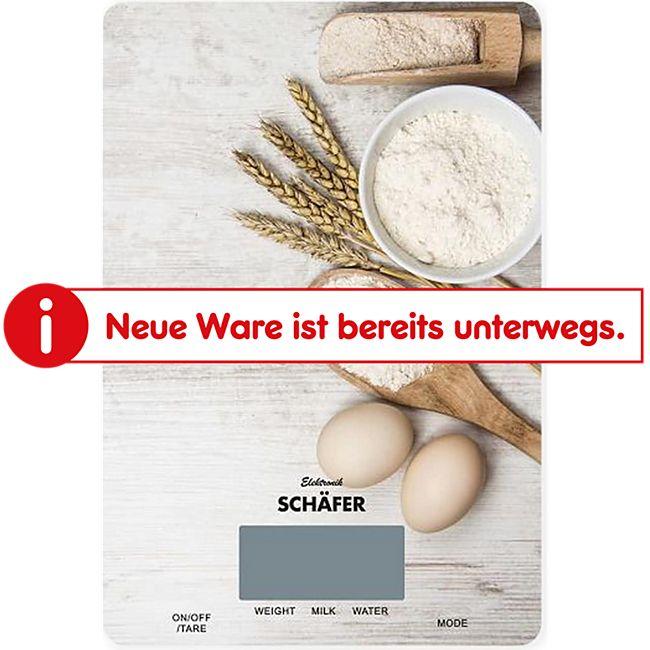 Schäfer Digitale Küchenwaage Back-Motiv - Bild 1