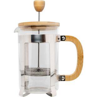 neuetischkultur Kaffeebereiter aus Glas mit Bambusdeckel und Griff - Bild 1