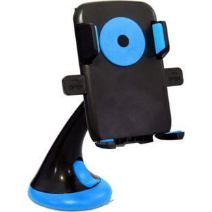 HTI-Line Handyhalter mit Saugnapf blau - Bild 1