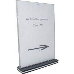 HTI-Line Tischaufsteller A4 Hochformat - Bild 1