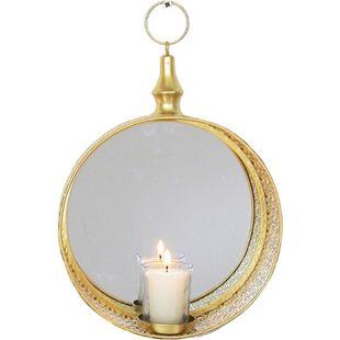 HTI-Line Wandspiegel Candle Viola - Bild 1