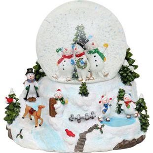 SIGRO Schneekugel Schneemannfamilie - Bild 1