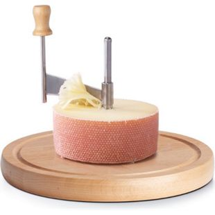 neuetischkultur Käseschneide-Set Buche, Edelstahl - Bild 1