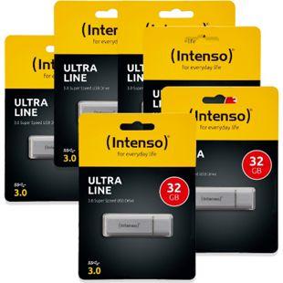 Intenso USB Stick 32 GB 6er Set - Bild 1