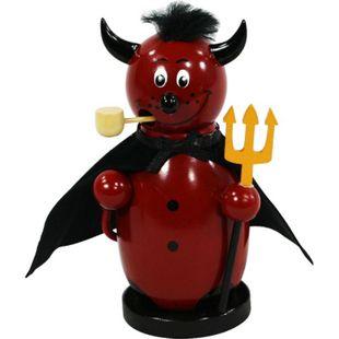 SIGRO Holz Räucherfigur Teufel - Bild 1