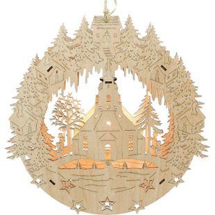 SIGRO Holz Fensterbild Seiffen - Bild 1