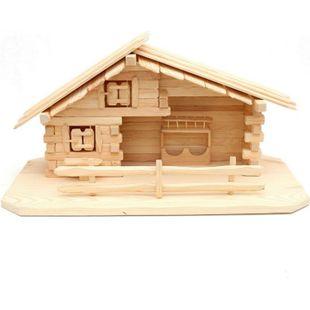 SIGRO Holz Stall für heilige Familie - Bild 1