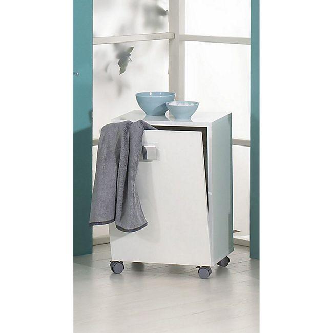 8645ebecde SCHILDMEYER Wäsche-Rolli Agios, glanz weiß online kaufen | Netto