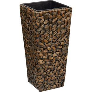 Gartenfreude Pflanzkübel Pflanzkübel mit Wasserhyazinthe + wasserdichter Kunststoffeinsatz - Bild 1