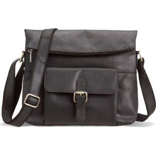 Packenger Ledertasche Ivar Messenger Bag Umhängetasche (Leder) - Bild 1