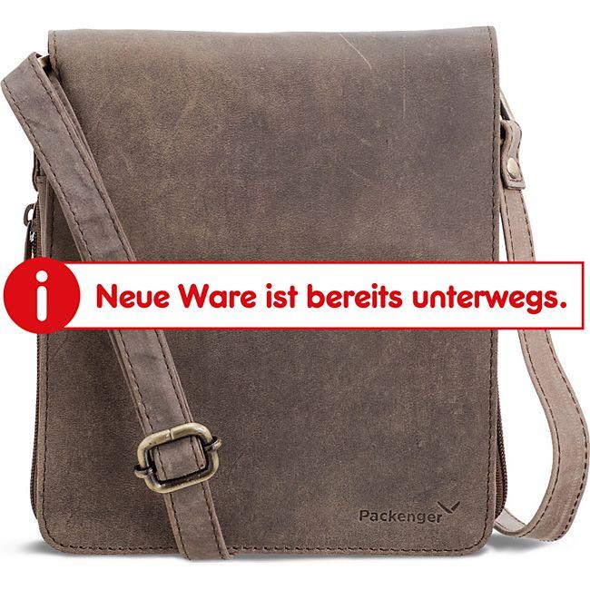 Packenger Ledertasche Hjalti Messenger Bag (leder) - Bild 1