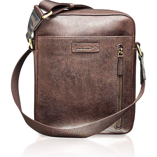 Packenger Ledertasche Urban Messenger Bag Capetown - Bild 1
