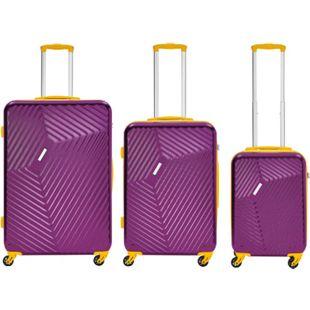 Packenger Reisekoffer 3er Koffer-Set Reisetrolley - Bild 1