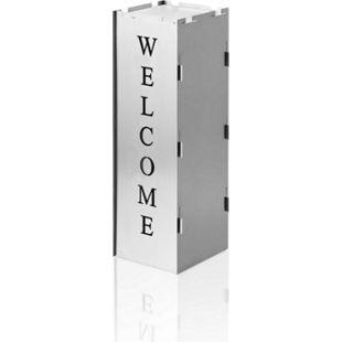 AMARE Dekoration Garten Windlicht und Podest im Welcome Design - Bild 1