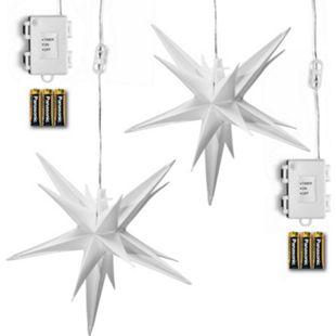 AMARE Lichterkette 2er LED Sternenkette - Bild 1