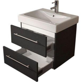Keramag Waschbecken Waschtisch Icon 60 cm in anthrazit seidenglanz - Bild 1