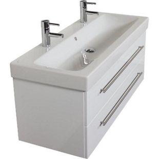 Keramag Waschbecken Waschtisch Icon 120 cm in weiß hochglanz - Bild 1
