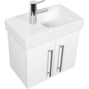 Keramag Waschbecken Waschtisch Icon XS 53 cm links in weiß hochglanz - Bild 1