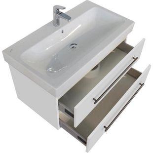 Keramag Waschbecken Waschtisch Icon 90 cm  in weiß hochglanz - Bild 1