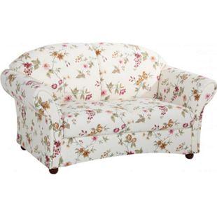 Max Winzer Corona Sofa 2-Sitzer Flachgewebe weiß - Bild 1