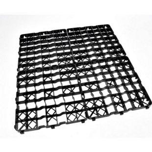 8x Rasengitter Platte, 50 x 50 x 4 cm Gartengitter Rasenplatte - Bild 1