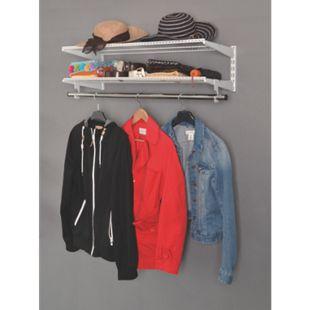 Element System Regal-Set Wardrobe Garderobe Jackenständer Kleiderhaken weiß - Bild 1