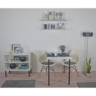 Element System Tischbeine 4er-Set Tischbeine Tischgestell Ø30 matt-schwarz - Bild 1