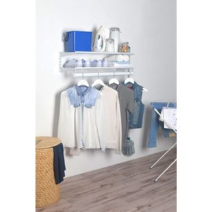 Element System Regal-Set Wardrobe, weiß Garderobe Jackenständer Kleiderhaken - Bild 1