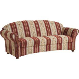 Max Winzer Corona Sofa 2,5-Sitzer rot - Bild 1