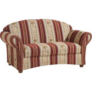 Max Winzer Corona Sofa 2-Sitzer rot - Bild 1