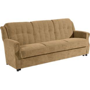 """Max Winzer """"Moldau"""" Sofa 3-Sitzer mit Bettfunktion Sand - Bild 1"""