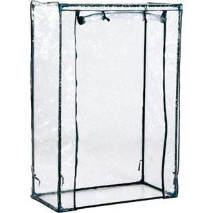 Outsunny Foliengewächshaus Frühbeet transparent 100 x 50 x 150 cm (LxBxH) | Treibhaus Folienzelt Pflanzenhaus Tomatenzelt - Bild 1