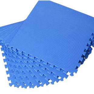 HOMCOM Puzzlematte als 8-teiliges Set | Matte Spielmatte Bodenschutzmatte Bodenmatte - Bild 1