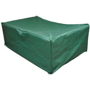 Outsunny Abdeckhaube für Gartenmöbel grün 210 x 140 x 80 cm (LxBxH) | Schutzhülle Abdeckplane Abdeckung Schutzplane - Bild 1