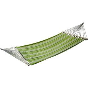 Outsunny Hängematte für 2 Personen grün, gelb, weiß 284 x 140 cm (LxB) | Hängesitz Hängestuhl Hängeliege Hängesessel - Bild 1