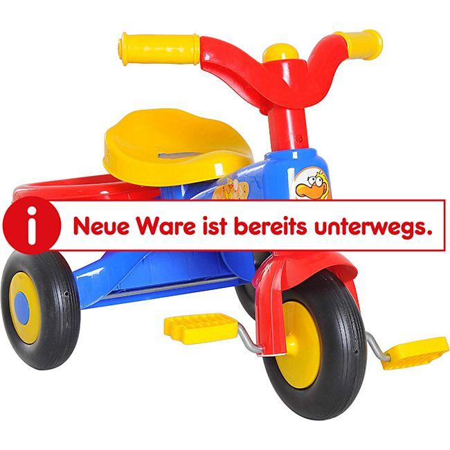HOMCOM Kinderdreirad mit Ladefläche bunt 60 x 42 x 45 cm (LxBxH)   Dreirad Kinder Fahrrad Kinderfahrzeug Spielzeug - Bild 1