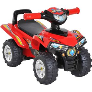 HOMCOM Rutscherfahrzeug als Geländewagen rot 60 x 38 x 42 cm (LxBxH) | Kids Rutscher Rutscherauto Kinderspielzeug - Bild 1
