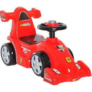 HOMCOM Rutscherauto als Formel-1-Wagen rot 70,2 x 32,5 x 41 cm (LxBxH) | Kids Rutscher Rutscherfahrzeug Kinder Rennauto - Bild 1