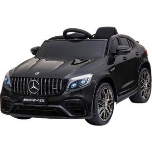 HOMCOM Kinder Elektroauto 115 x 70 x 55 cm (LxBxH) | Mercedes Kinderauto Kinderfahrzeug Kinderwagen - Bild 1