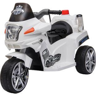 HOMCOM Kindermotorrad Police 87 x 41 x 54 cm (LxBxH) | Kindermotorrad Elektro-Motorrad Elektrofahrzeug - Bild 1