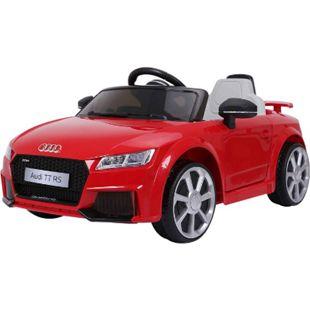 HOMCOM Kinder Elektroauto rot 103 x 63 x 44 cm (LxBxH) | Audi Kinderauto Kinderfahrzeug Kinderwagen - Bild 1